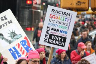 Women's March on Washington in NY : A photo essay