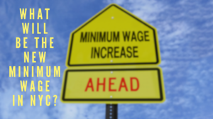 What will be the new minimum wage in New York City beginning December 31, 2017?
