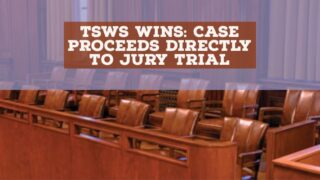 William Sipser wins decisive Appellate Court disability decision: Case will now proceed directly to a jury trial