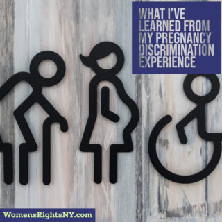 """""""What I've Learned From My Pregnancy Discrimination Experience"""" – by Chelsey Glasson"""