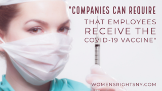 Can My Company Make Me Get the COVID Vaccine?